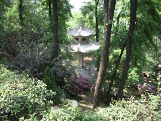 Quaint garden near Golden Crane Pavilion, Wuhan
