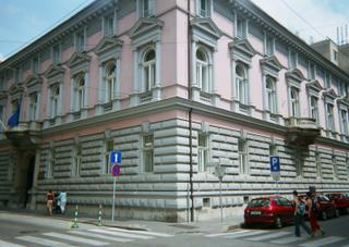 Pink Building 1