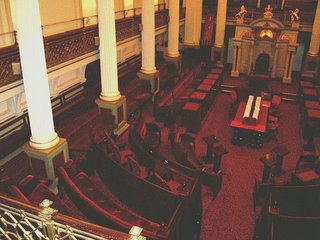 The Legislative Council, or Red Chamber; source: D. Koyzis