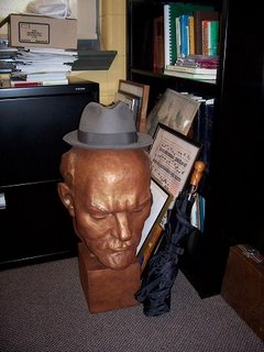 Lenin with fedora