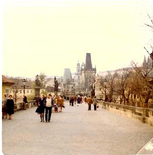 Charles Bridge, Prague (© 1976 David T. Koyzis)