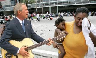 Bush a Nova Orleans