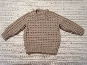 Jersey Baby Sweater