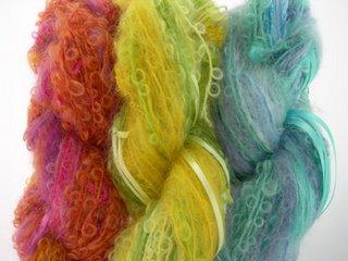 bright colors of Magic Ball yarn