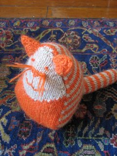 Monsieur Cat knit by Margaret