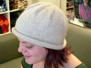 the whimsical hat from Blue Sky Alpaca