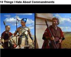 Why I hate the 10 Commandments