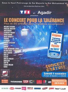 Concert Tolerance Agadir