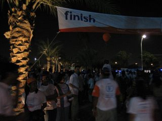 finish walk the world dubai