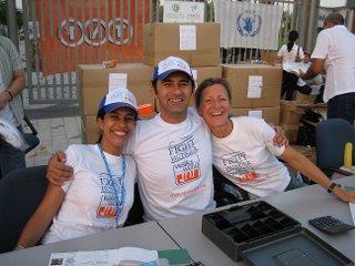 Organisateurs Marche Mondiale Contre la Faim Dubai