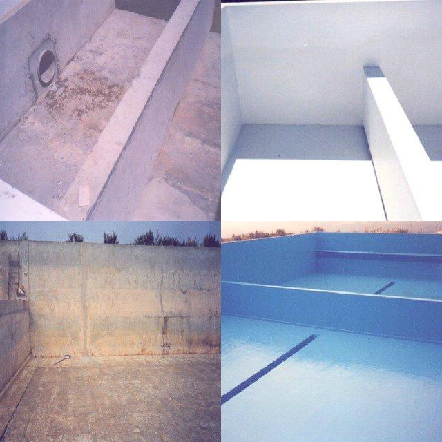 Soluciones thortex revestimientos de estanques de hormig n for Estanque de hormigon