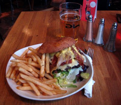 Vegamótborgarinn -- The Best Burger In Iceland Or Anywhere