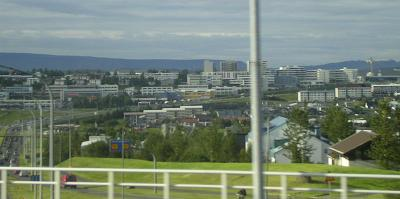 Arriving back in Reykjavík