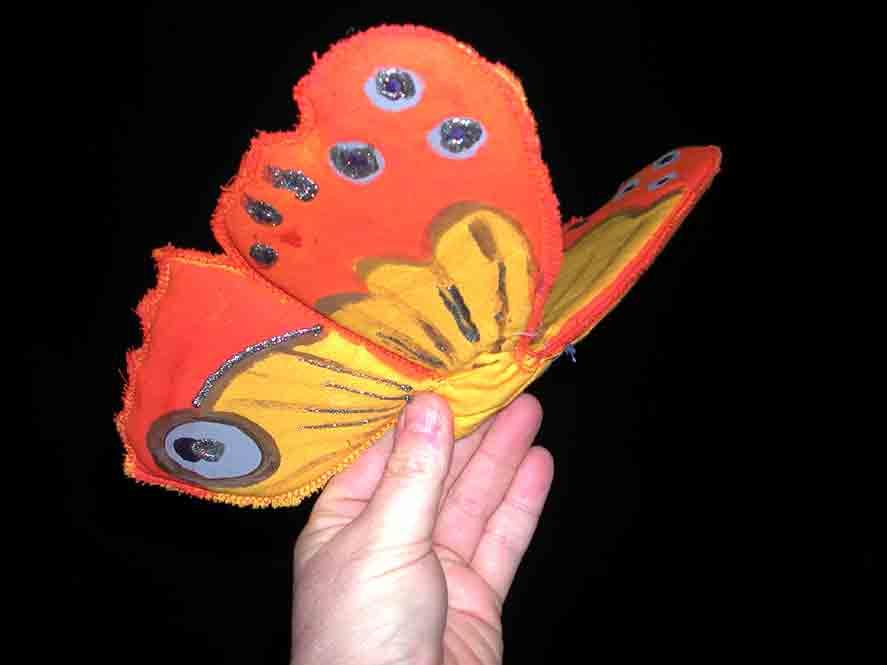 handen en vlinders