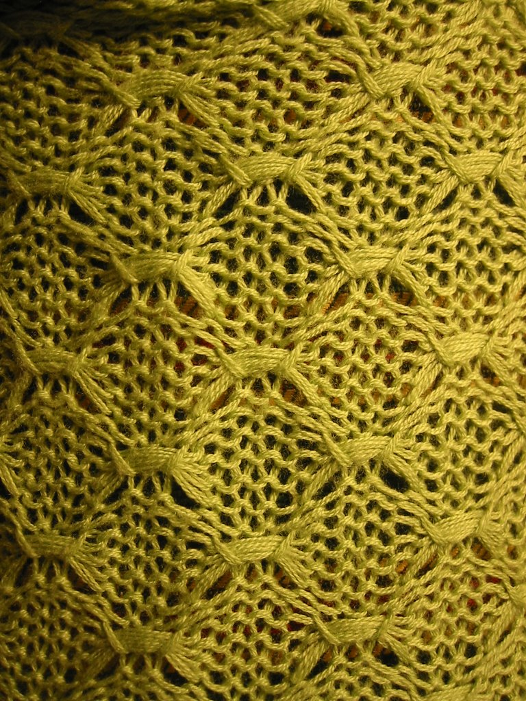 Knitting Stitches Butterfly : purl this!: Butterfly stitch?