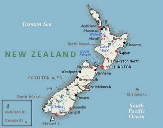 New Zealand Islands Connected