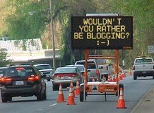 Wouldn't You Rather Be Blogging?