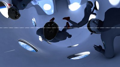 SpaceShipTwo Cabin, wooo!
