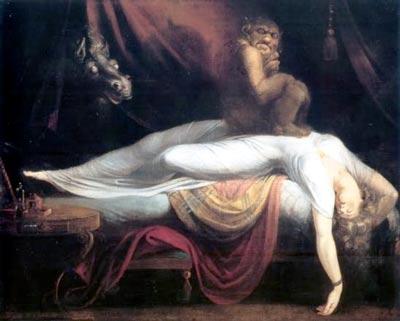 Le cauchemar, de Johann Heinrich Füssli