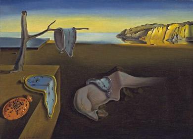 Persistance de la mémoire, Salvador Dali, 1931