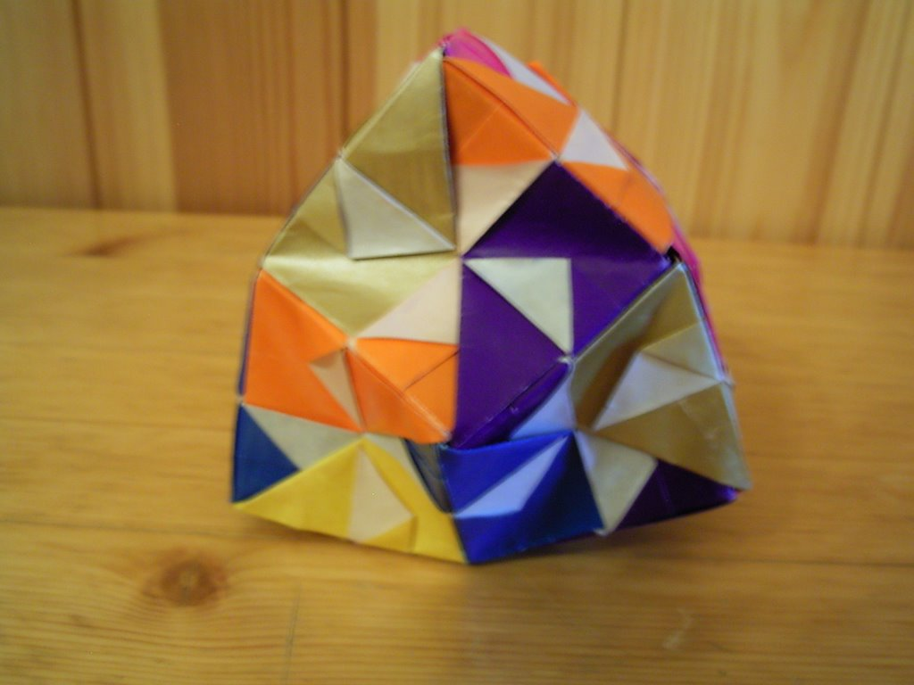 cube origami instructions one paper