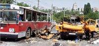 Bomba explodata intr-un autobuz la Tiraspol