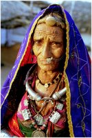Bishnoi Woman in Luni Region