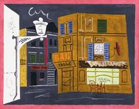 Stuart Davis, Corner Cafe, Phillips Collection, Washington DC