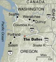 Where The Dalles lays