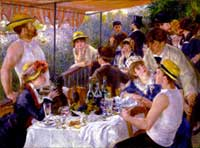 Pierre-Auguste Renoir, Luncheon of the Boating Party, Phillips Collection, Washington DC