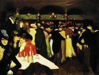 Picasso, Le Moulin de la galette, Guggenheim Museum, New York