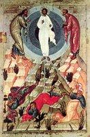 Preobrazhenie Gospodne, Icon from XVth Century, Novgorod