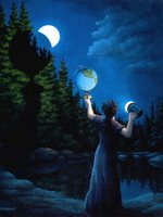 Rob Gonsalves, New Moon Eclipsed