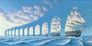 Rob Gonsalves, Sun Sets Sail