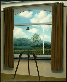 Rene Magritte, La Condition humaine, Washington DC National Gallery