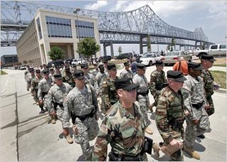 National Guard arriving in New Orleans