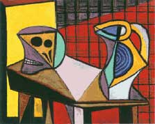 Picasso, Nature Morte au Crâne, 1945, Menil Collection, Houston, Texas