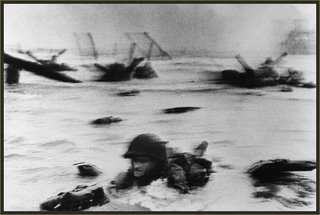 Robert Capa, Omaha Beach, June 6, 1944