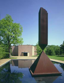 Rothko Chapel and the Broken Obelisk of Barnett Newman, Houston, Texas