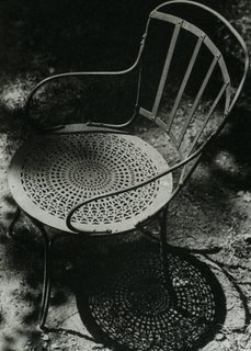Brassai, This is a chair ... Nothing more