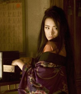 Ziyi Zhang in Memoirs of a Geisha