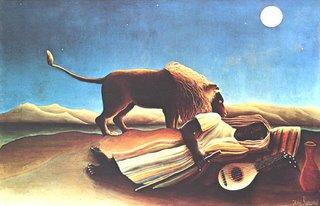 Henri Rousseau le Douanier, Bohemienne endormie