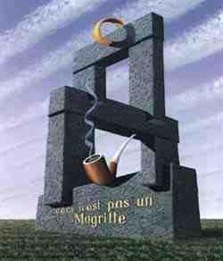 Jos de Mey, Ceci n'est pas un Magritte