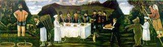 Niko Pirosmani, Family Feast