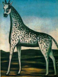 Niko Pirosmani, Giraffe