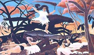 Henri Rousseau le Douanier, La Guerre