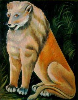 Niko Pirosmani, Lion