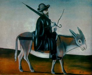 Niko Pirosmani, Physician on a Donkey