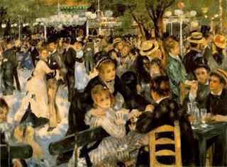 Pierre-Auguste Renoir, Le Moulin de la Galette, Musee d'Orsay, Paris