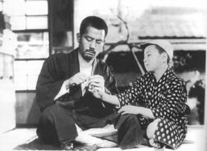Imagine din filmul 'A fost odata un tata' de Yasujiro Ozu